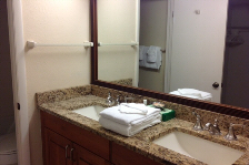 Ensuite with Granite